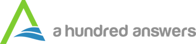 A Hundred Answers logo