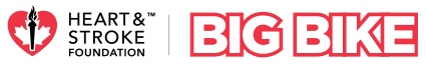 Heart & Stroke Foundation Big Bike logo